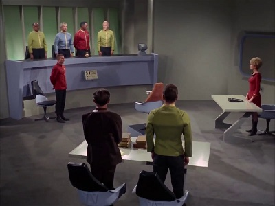 Kirk unter Anklage