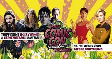German Comic Con Spring Edition