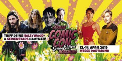 Ein Vorbericht zur German Comic Con Spring Edition am 13. +14.4. 2019