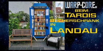 Außenmission: Der Tardis Bücherschrank Landau