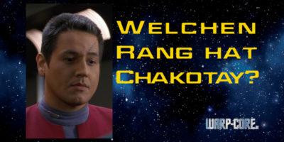 Faktencheck: Welchen Rang hat Chakotay?