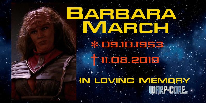 Spotlight: Barbara March