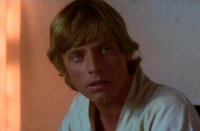 Mark Hamill als Luke Skywalker in Episode IV