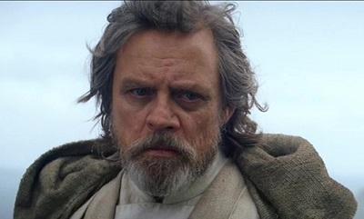 Mark Hamill als Luke Skywalker in Episode VII