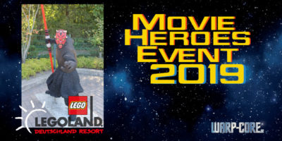 Movie Heroes Event 2019 im Legoland Deutschland