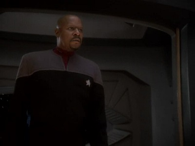Avery Brooks in Deep Space Nine