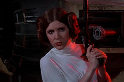 Carrie Fisher in Episode IV