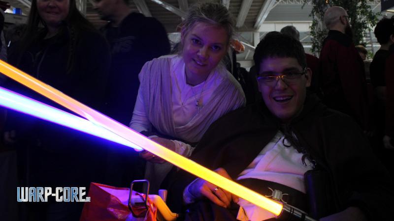 Science Fiction Treffen 2019 Jedi im Rollstuhl