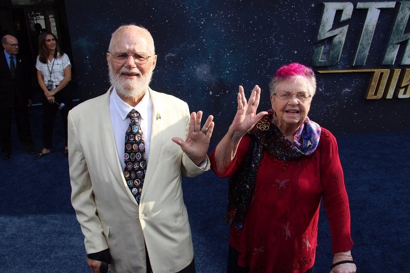 Die Rettung von Star Trek - Bjo und John Trimble auf der Premiere von Star Trek Discovery