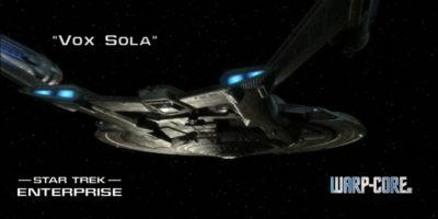 [ENT 022] Vox Sola