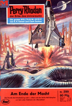 Am Ende der Macht Perry Rhodan 299 Cover