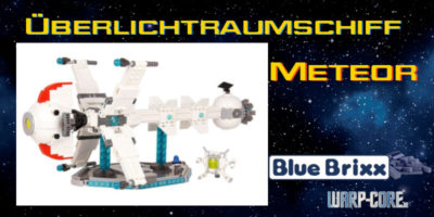 DIY: Überlichtraumschiff Meteor – Zusammenbau mit Hindernissen