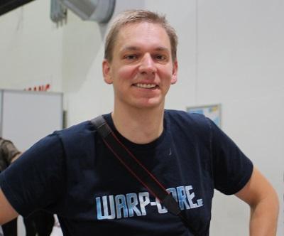 Ein Jahr Warp-Core - Der Captain auf der Comic Con Offenburg 2019