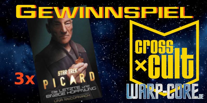 Star Trek Picard Roman Gewinnspiel