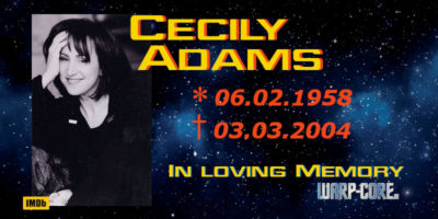 [Spotlight] Cecily Adams
