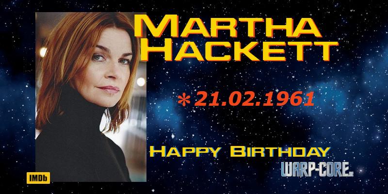 Spotlight: Martha Hackett
