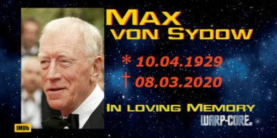 Max von Sydow verstorben