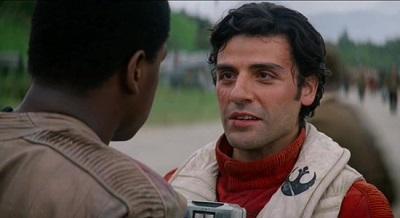 Oscar Isaac als Poe Dameron