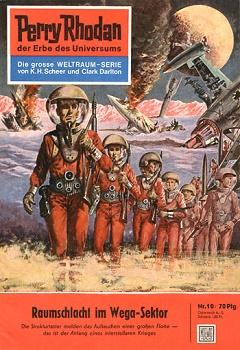 Raumschlacht im Wega-Sektor