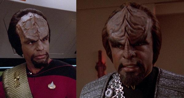 Die Entwicklung der Klingonen The Next Generation