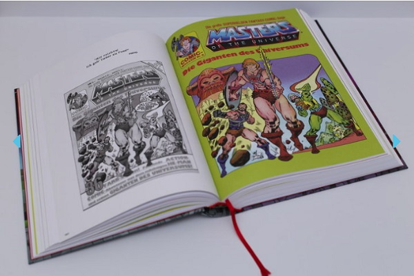 Masters of the Universe Comic Sammelband