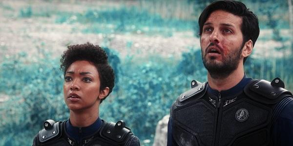 Star Trek Discovery Si vis pacem, para bellum Burnham und Tyler