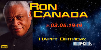 Spotlight: Ron Canada