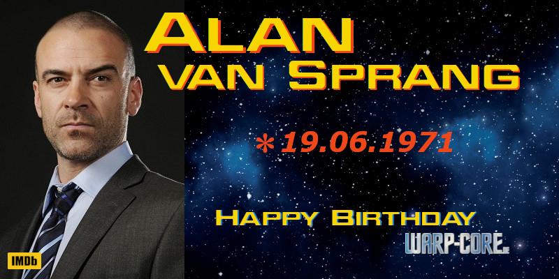 Spotlight: Alan van Sprang