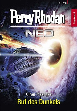 Perry Rhodan Neo 230 Ruf des Dunkels Cover