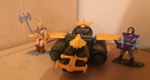 Wind Raider Attack Masters of the Universe Mega Construx