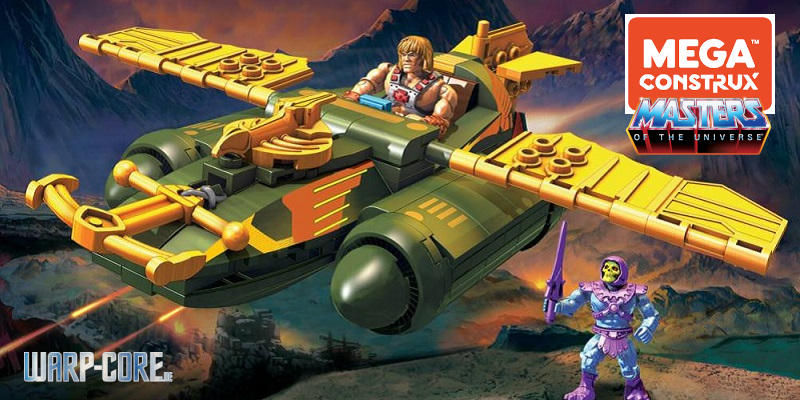 Wind Raider Attack Masters of the Universe Mega Construx