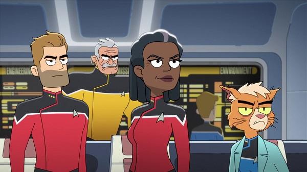 Star Trek Lower Decks 01 Second Contact