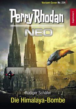 Perry Rhodan Neo 234 Die Himalaya-Bombe Variant Cover