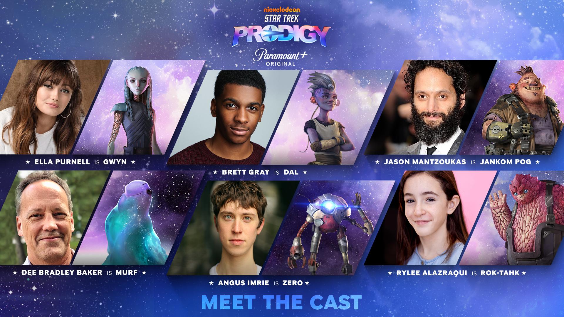 Star Trek Prodigy Cast und Crew