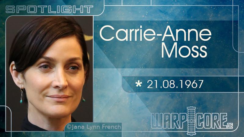 Spotlight: Carrie-Ann Moss
