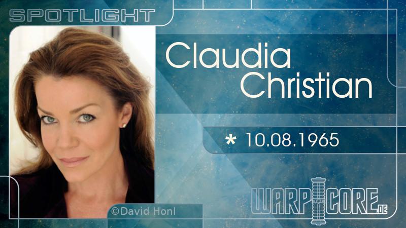 Spotlight: Claudia Christian