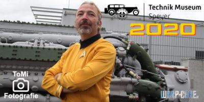 Außenmission: Cosplay-Wochenende 2020 im Technikmuseum Speyer
