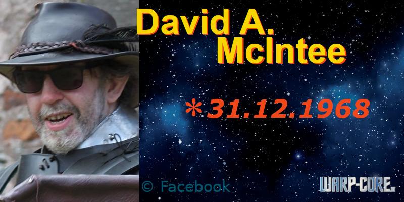 Spotlight: David A. McIntee