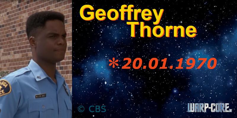 Spotlight: Geoffrey Thorne