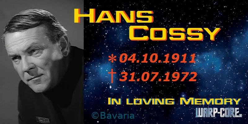 Spotlight: Hans Cossy