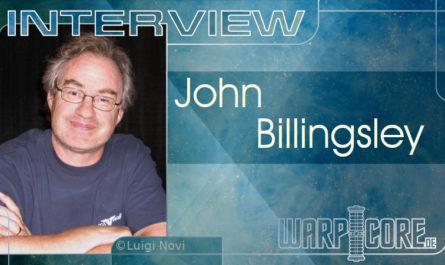 John Billingsley Interview