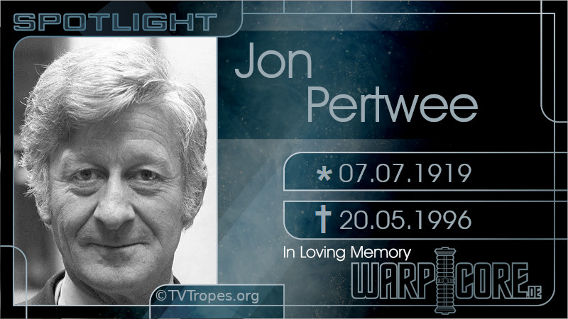 Spotlight: Jon Pertwee