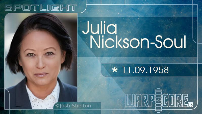 Spotlight: Julia Nickson-Soul