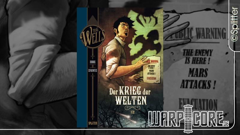 Review: H.G. Wells Band 2/6 – Der Krieg der Welten, Teil 1