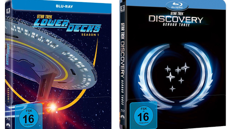 Star Trek Lower Decks und Discovery ab November auf Disc