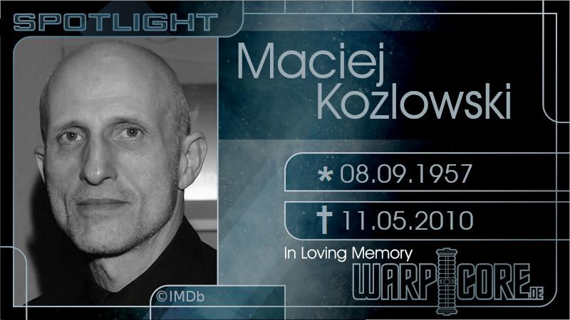 Spotlight: Maciej Kozłowski