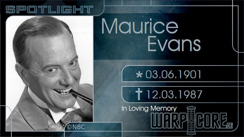 Spotlight: Maurice Evans