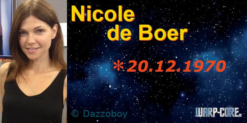 Spotlight: Nicole de Boer