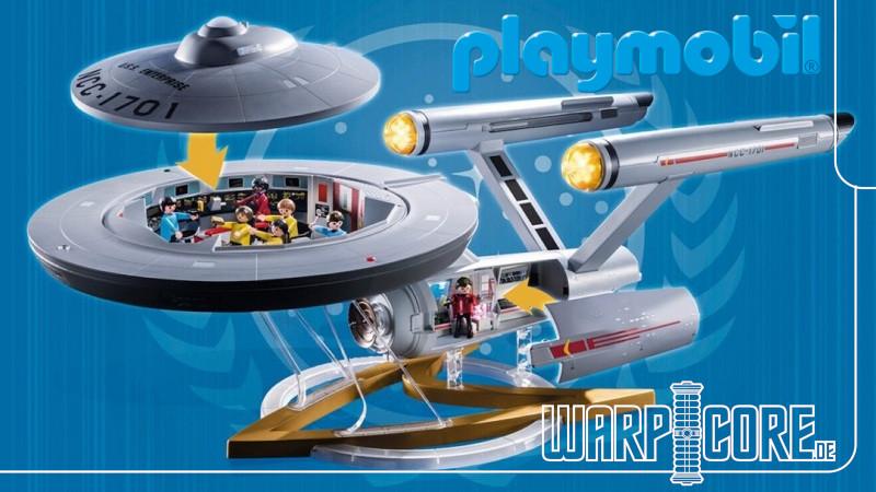 """Playmobil erhält die """"Star Trek""""-Spielzeuglizenz"""