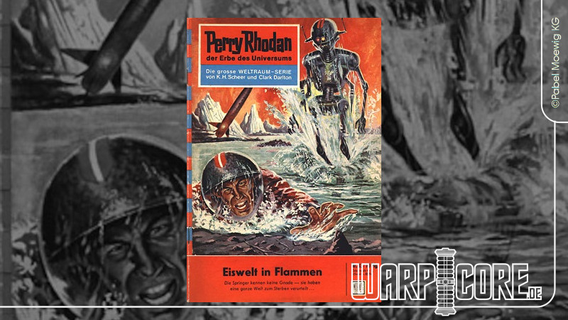 Review: Perry Rhodan 33 – Eiswelt in Flammen
